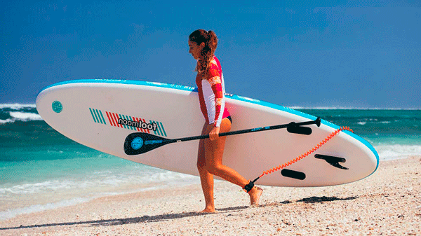"""SUP Rigides 12'6 x 28"""" EARTH BISCAYNE"""